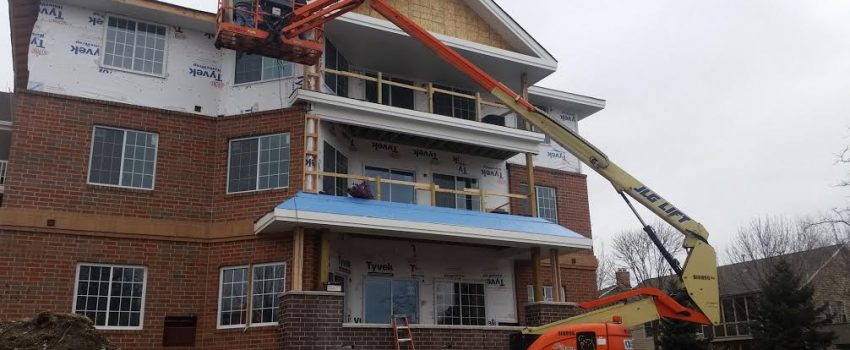 Edge contractors during window replacement