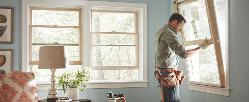 double hung window installation Chicago